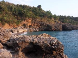 Spiaggia grotta della scala e grotta pipistrelli