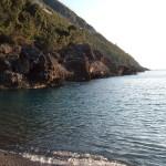 Spiaggia Pretacaduta (pietra caduta)